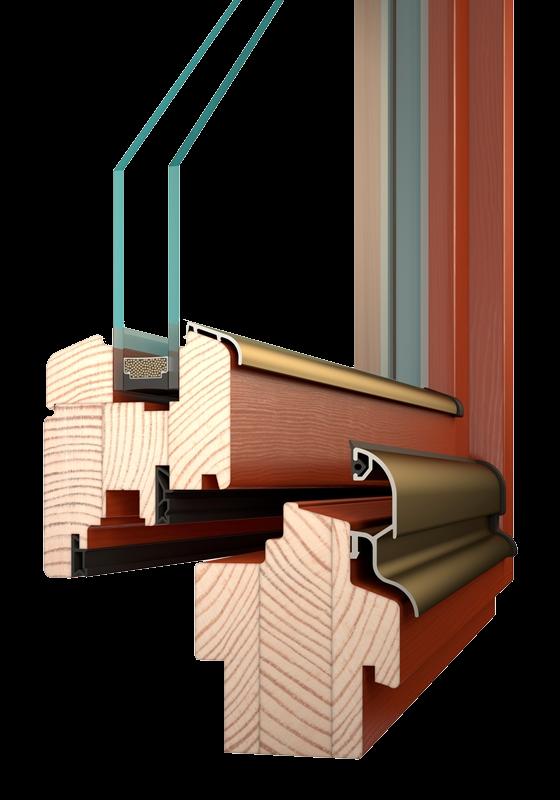 IV68 - dřevěné okna
