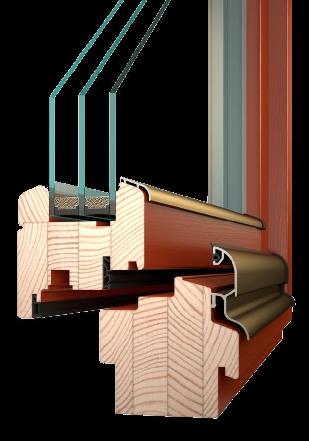 IV84 - dřevěné okna